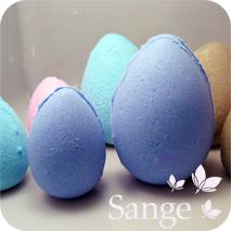Oeuf de Pâques, pour le bain…