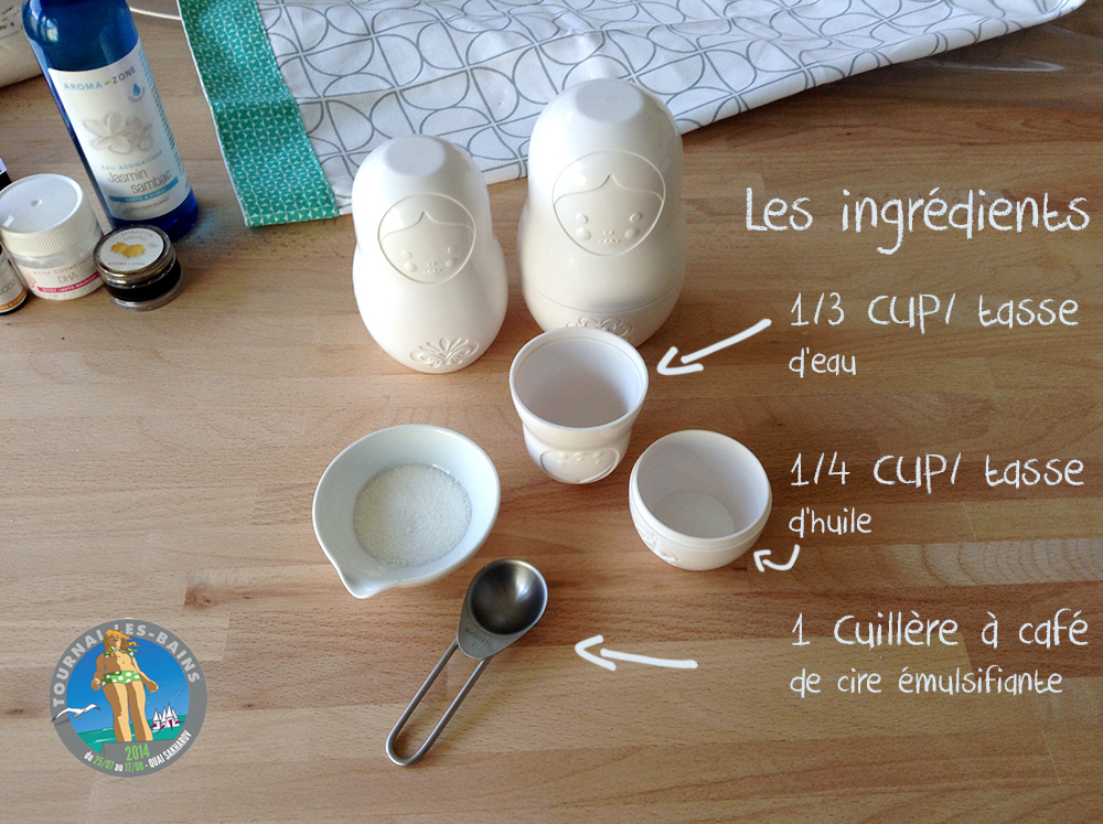 ingrédients lait réparateur après-soleil